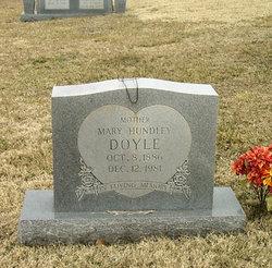 Mary Lillie <i>Hundley</i> Doyle
