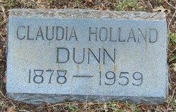 Claudia <i>Holland</i> Dunn