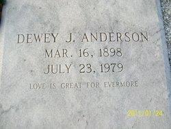Dewey J. Anderson