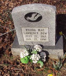Rhoda Mae <i>Lawrence</i> Dew