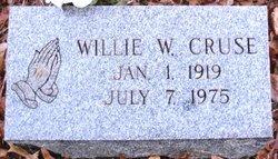 Willie Ruth <i>Weaks</i> Cruse