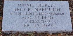 Minnie Muse <i>Bickett</i> Brockenbrough