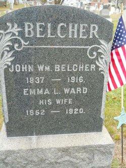 Emma L <i>Ward</i> Belcher