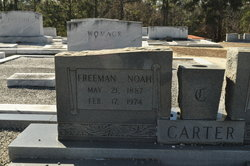 Freeman Noah Carter, Sr