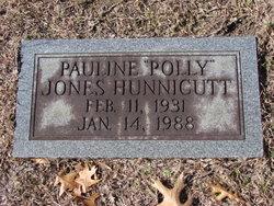 Pauline Polly <i>Jones</i> Hunnicutt