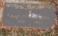 Jean M <i>McCall</i> Kiser