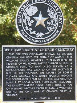 Mount Homer Cemetery