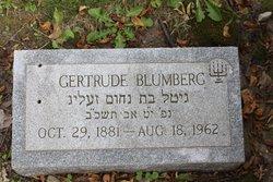 Gertrude Blumberg