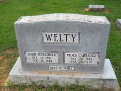 Viola Susan <i>Carbaugh</i> Welty