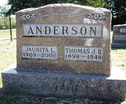 Jaunita Lucretia <i>Wilson</i> Anderson