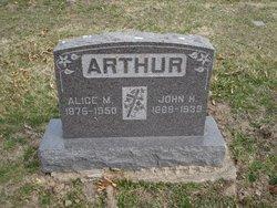 Alice May <i>Rooney</i> Arthur