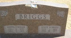 Phoebe Jaunita Nita <i>Bowser</i> Briggs