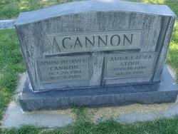 Anna Laura <i>Stohl</i> Cannon