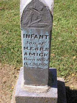 Infant Son Amick