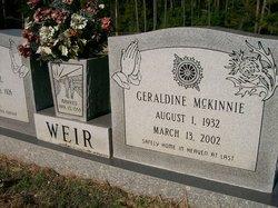 Geraldine Gerry <i>McKinnie</i> Weir