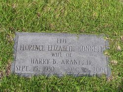 Florence Elizabeth Flo <i>Bonnett</i> Arant