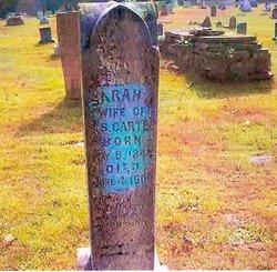 Sarah J <i>Dyar</i> Cartee