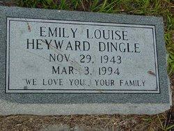 Emily Louise <i>Heyward</i> Dingle