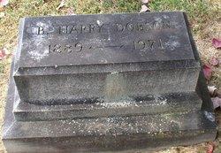 Benjamin Harrison Harry Dobson