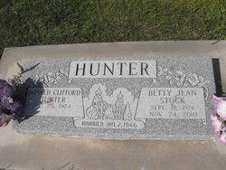Betty Jean <i>Stock</i> Hunter