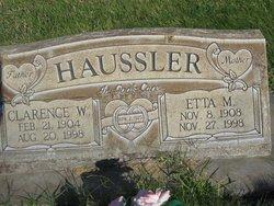 Clarence William Haussler