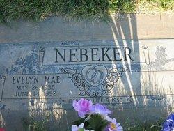 Evelyn Mae <i>Haussler</i> Nebeker