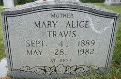 Mary Alice <i>Sanders</i> Travis
