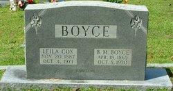 B. M. Boyce