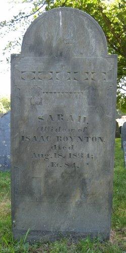 Sarah <i>Shattuck</i> Boynton