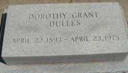 Dorothy <i>Grant</i> Dulles