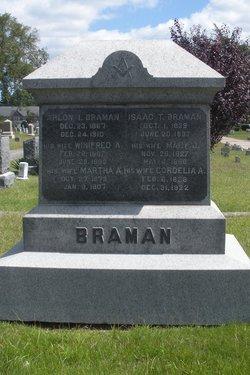 Winifred A <i>Crowley</i> Braman
