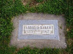Abigail Abbie <i>Durfee</i> Baker