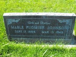 Mable <i>Pugmire</i> Johnson