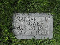 Margaret M Hegwer