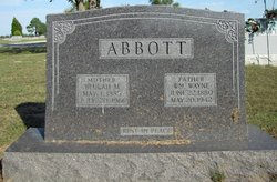 Beulah Mae <i>Clark</i> Abbott