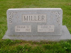 Anne T <i>McGettigan</i> Miller