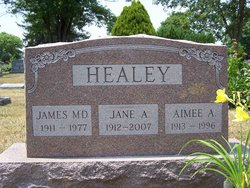 Jane Isabelle <i>Armstrong</i> Healey