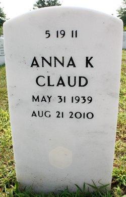 Anna <i>Keesling</i> Claud