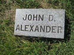 John D Alexander
