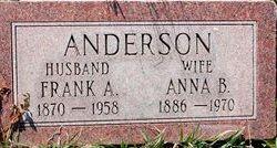 Anna B Anderson