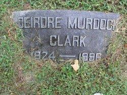 Deirdre <i>Murdock</i> Clark