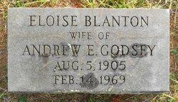 Eloise B <i>Blanton</i> Godsey
