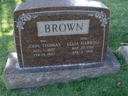 Lelia <i>Hawkins</i> Brown