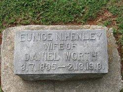 Eunice Narcissa <i>Henley</i> Worth