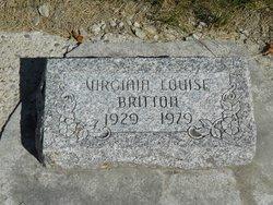 Virginia Louise <i>Thomas</i> Britton