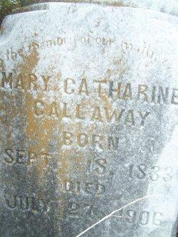 Mary Catherine <i>Kirby</i> Callaway