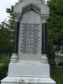 War Memorial WWI North Street School