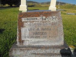 Effie Maryetta <i>Arnell</i> Hansen