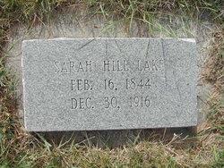 Sarah Jane <i>Hill</i> Lake