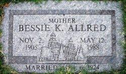 Bessie <i>Kammeyer</i> Allred